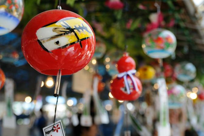 An Overview on Japanese Glass Furin Wind Chimes