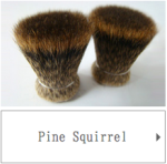 Pine Squirrel Hair for Japanese Cosmetic Brushes