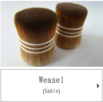 Weasel Hair for Japanese Cosmetic Brushes